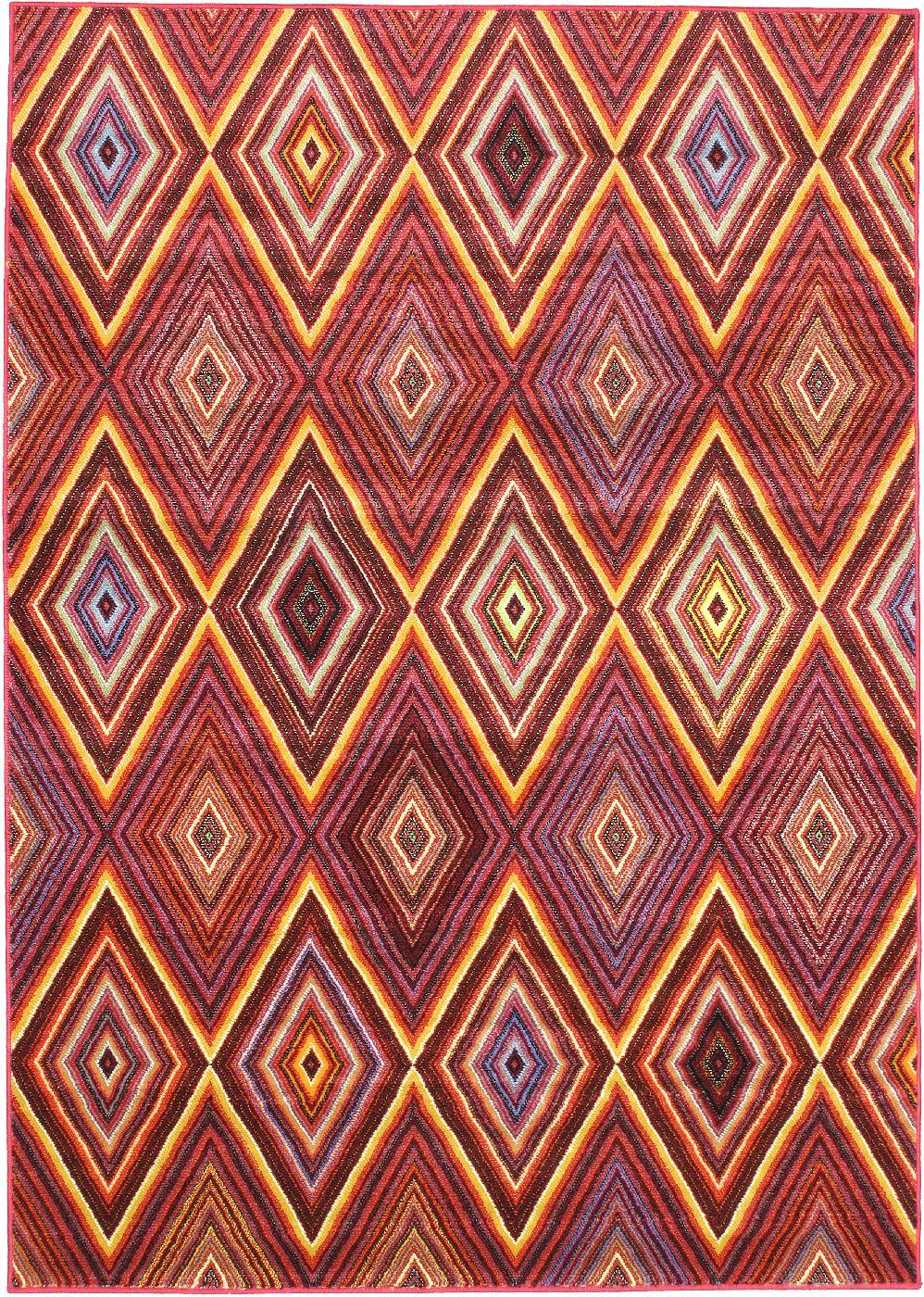 ecarpet gallery chroma diamond contemporary area rug collection