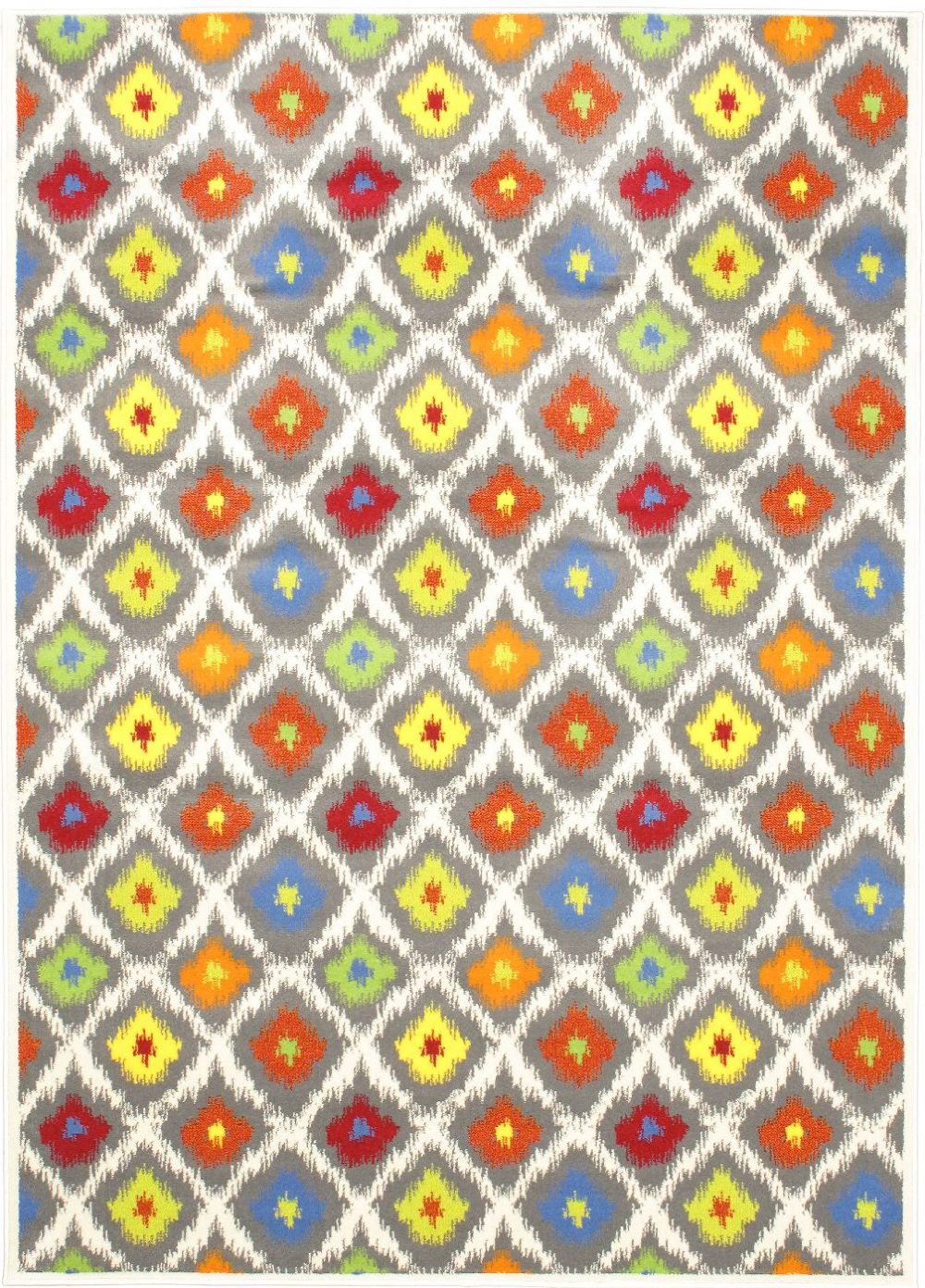 ecarpet gallery chroma glow contemporary area rug collection