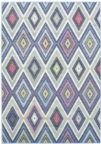 eCarpet Gallery Contemporary Chroma Diamond Area Rug Collection