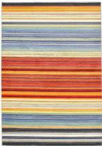 eCarpet Gallery Solid/Striped Chroma Area Rug Collection