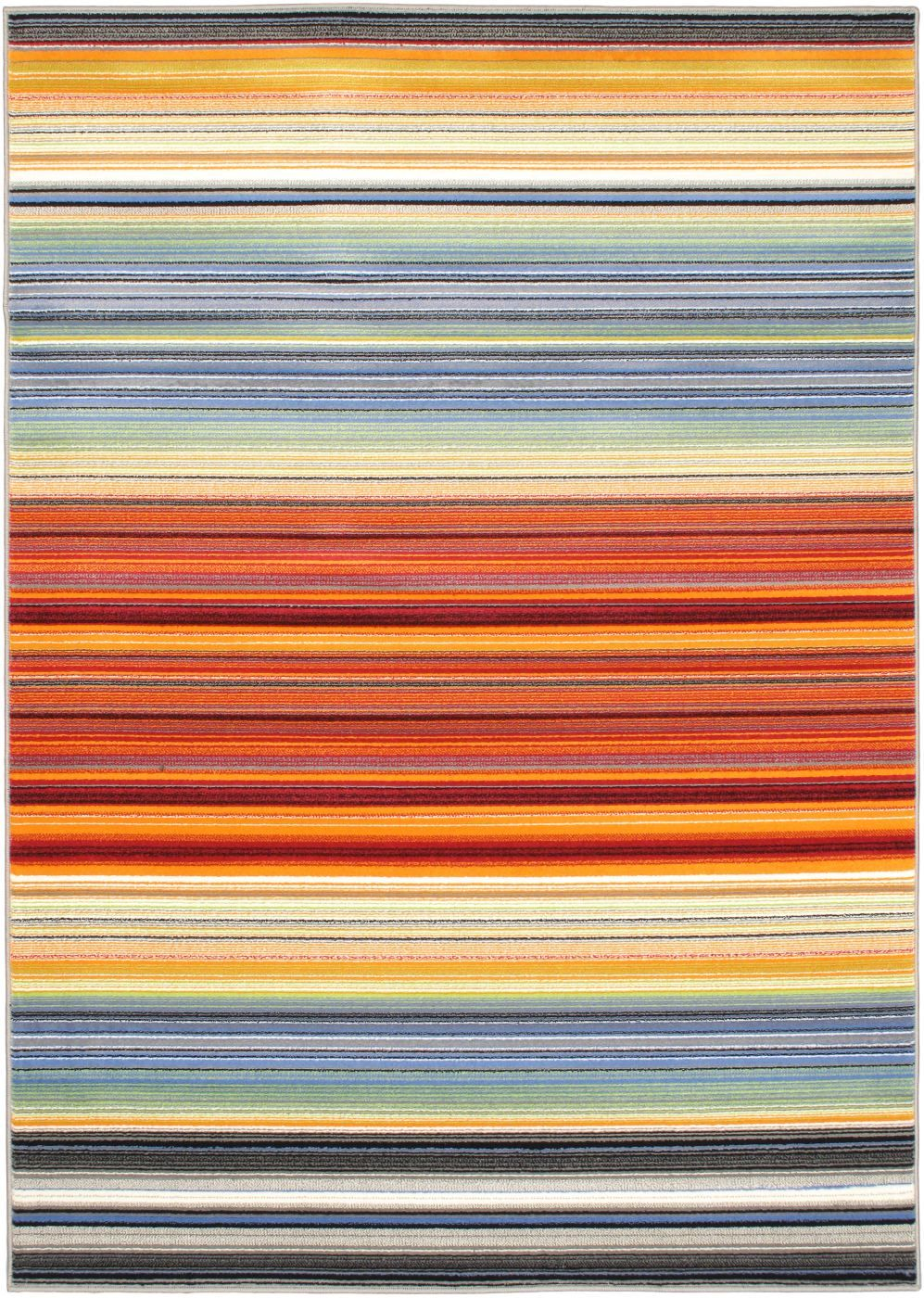 ecarpet gallery chroma solid/striped area rug collection