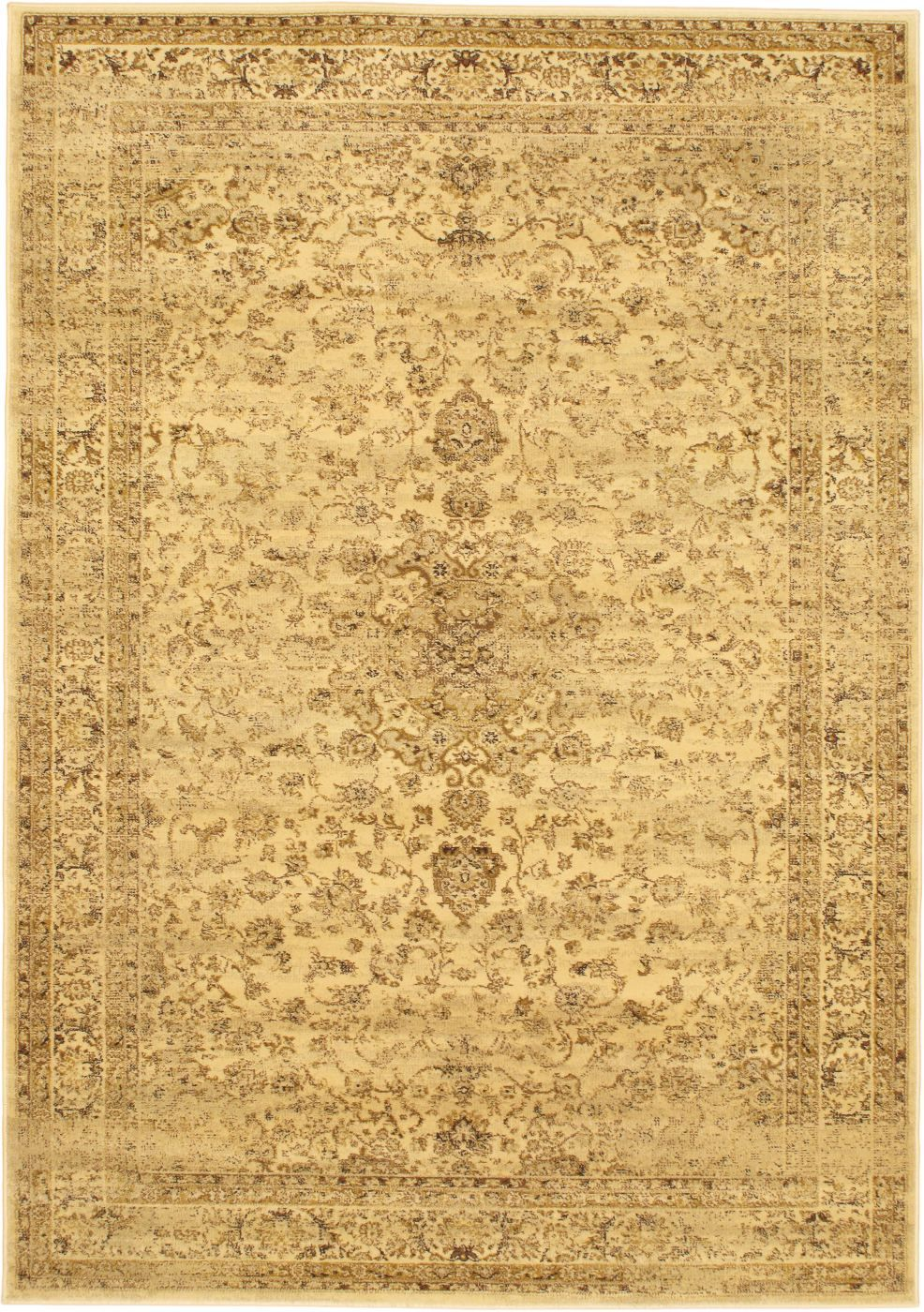 ecarpet gallery golden medley traditional area rug collection