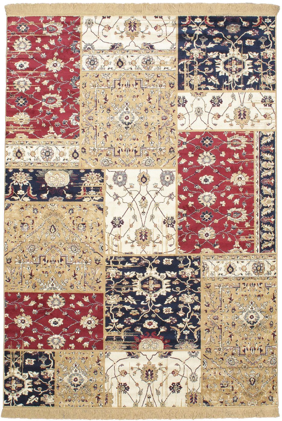 ecarpet gallery soraya patch transitional area rug collection