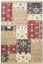 eCarpet Gallery Transitional Soraya Patch Area Rug Collection