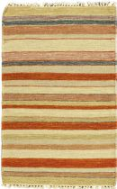 eCarpet Gallery Solid/Striped Kaleidoscope Area Rug Collection