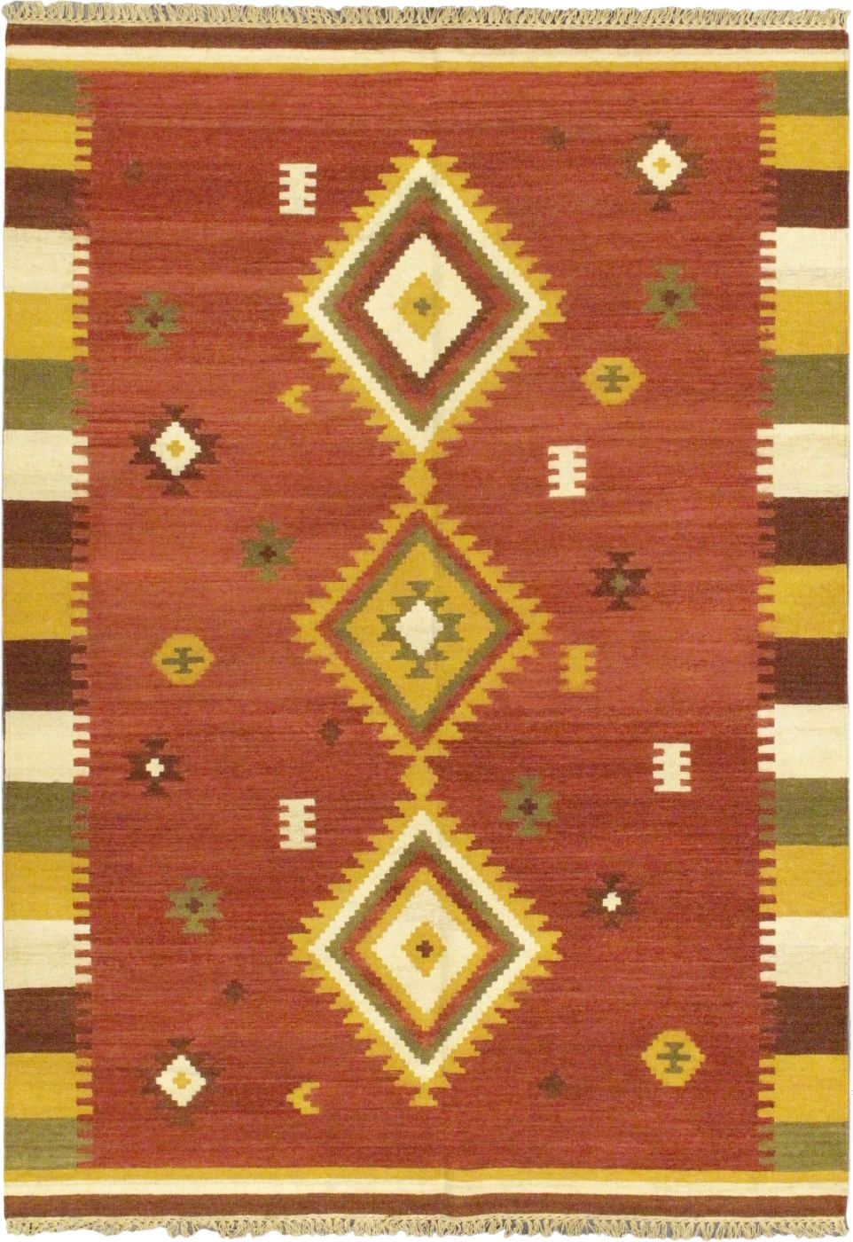 ecarpet gallery kashkoli kilim southwestern/lodge area rug collection