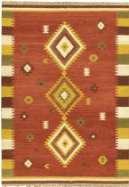 eCarpet Gallery Southwestern/Lodge Kashkoli Kilim Area Rug Collection