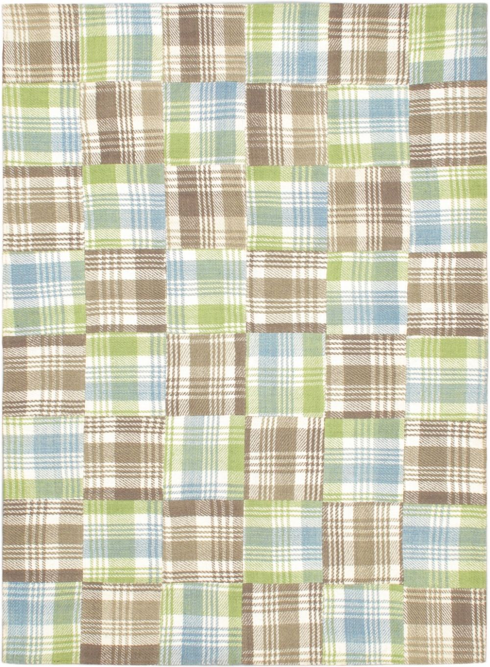 ecarpet gallery scottish patch transitional area rug collection