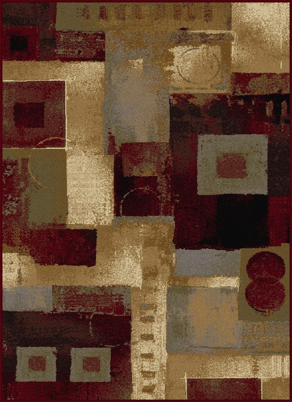 tayse impressions contemporary area rug collection