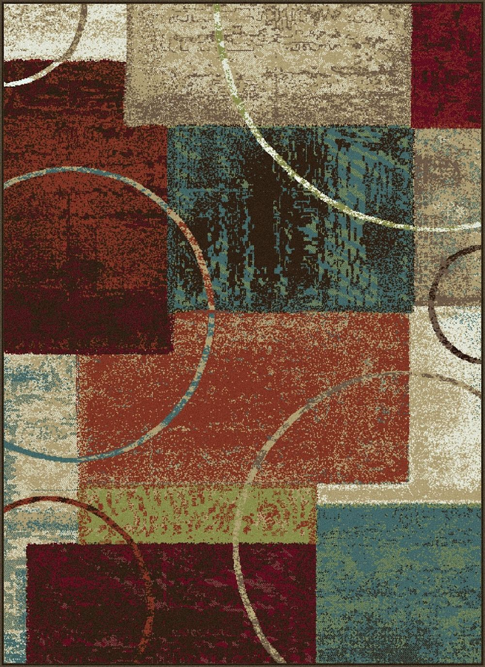 tayse deco contemporary area rug collection