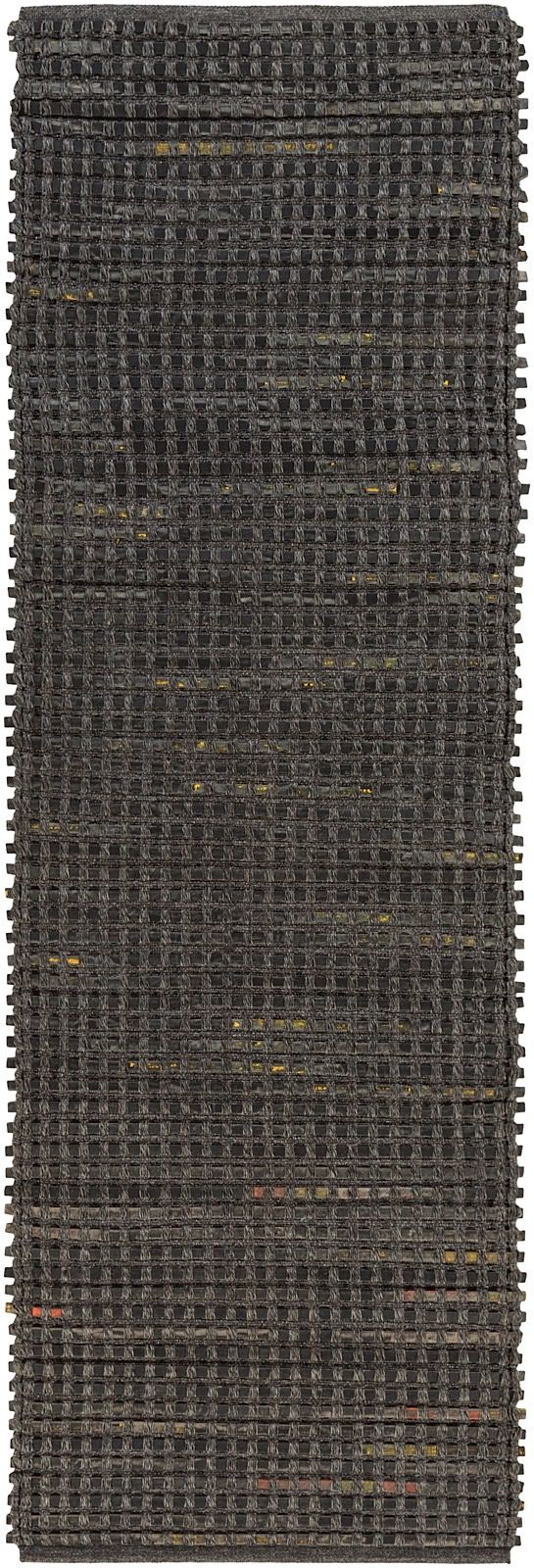 surya fan belt solid/striped area rug collection
