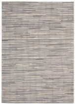 Nourison Solid/Striped Capelle Area Rug Collection