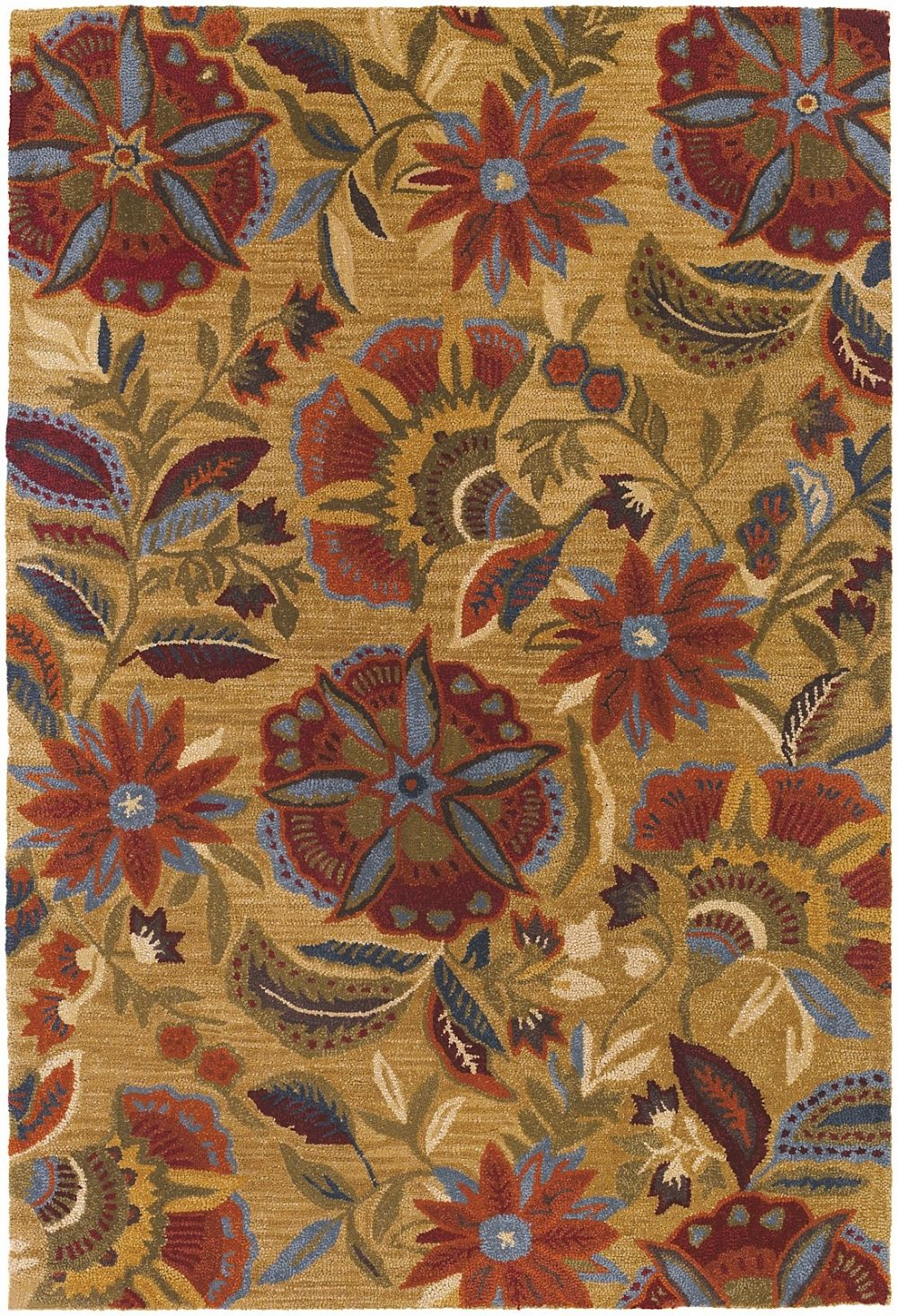couristan botanique country & floral area rug collection