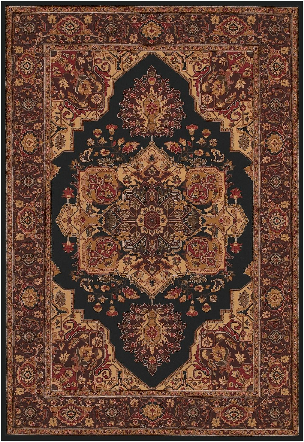 couristan everest european area rug collection