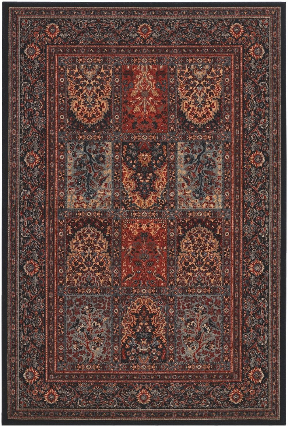 couristan timeless treasures transitional area rug collection