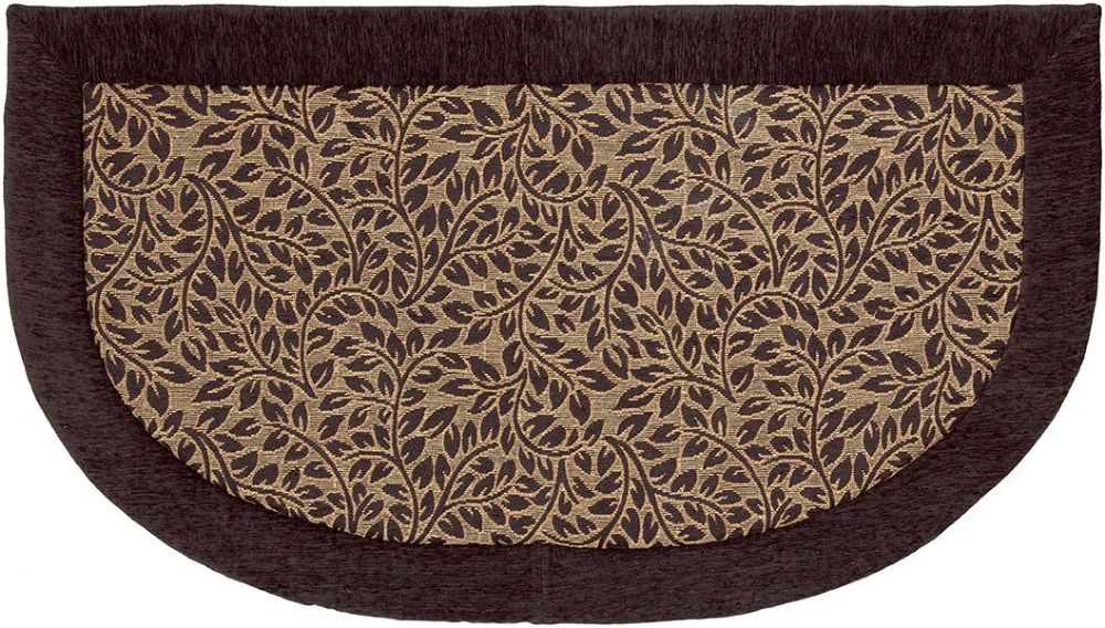 mohawk brown leaves contemporary area rug collection