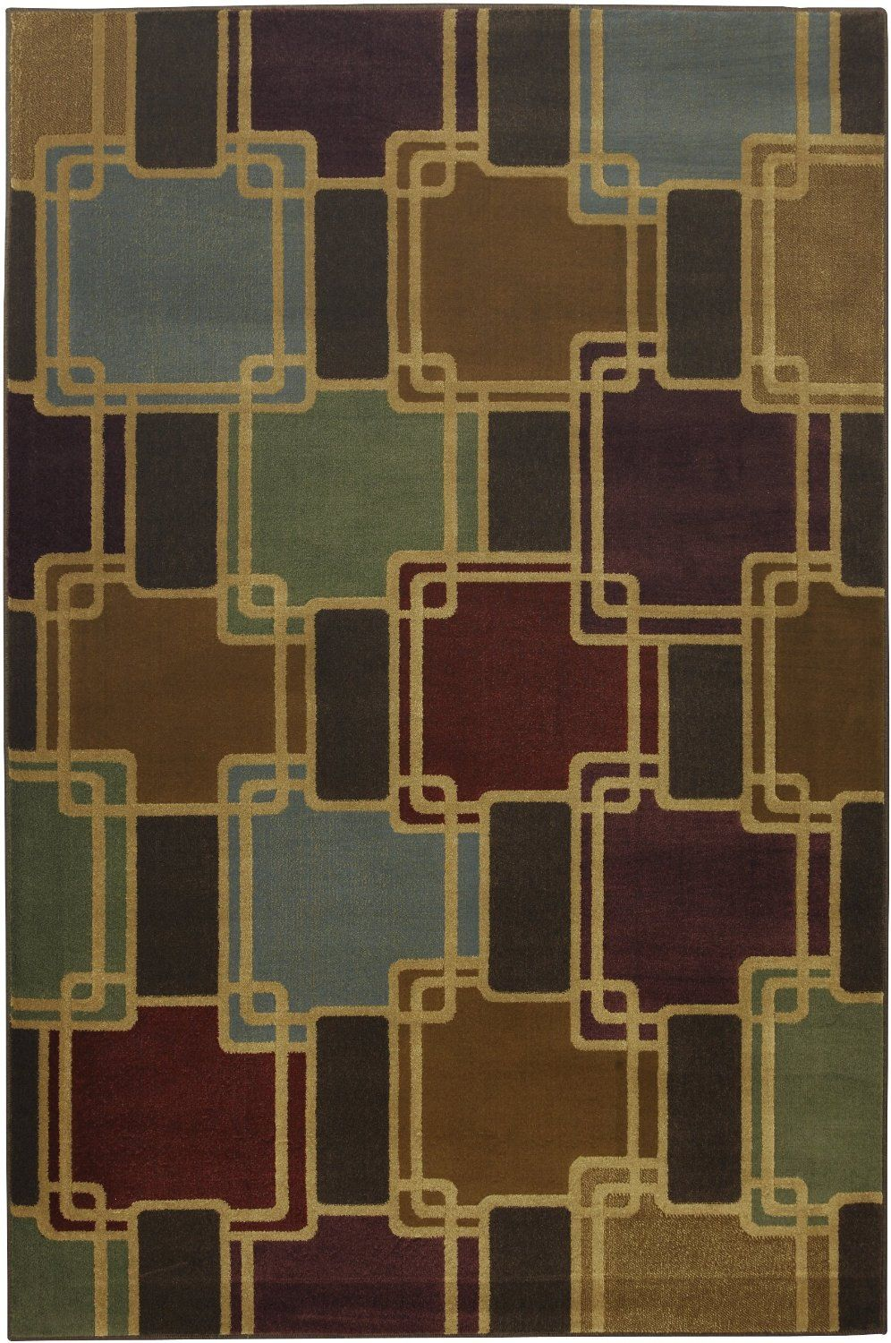 mohawk conventional dark butter contemporary area rug collection