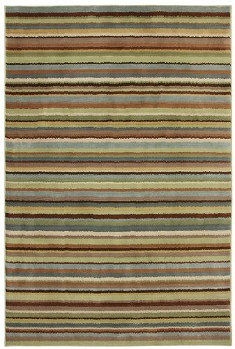 mohawk rowe peat moss solid/striped area rug collection