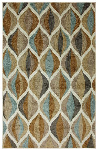 mohawk ornamental ogee multi contemporary area rug collection