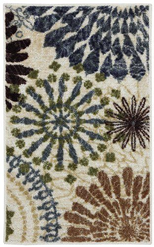 mohawk floral mix contemporary area rug collection