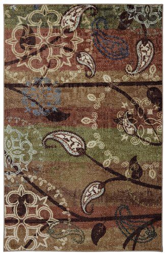 mohawk paisley garden contemporary area rug collection