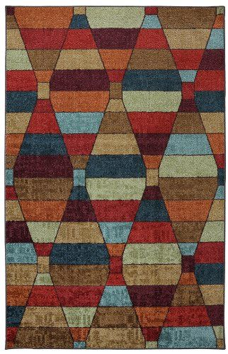 mohawk rhombus contemporary area rug collection