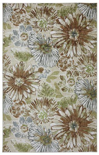 mohawk sunburst floral contemporary area rug collection