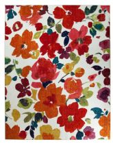 Mohawk Country & Floral Bright Floral Toss Area Rug Collection