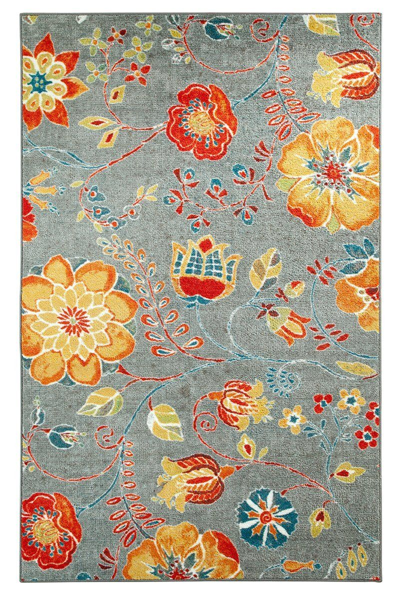 mohawk free spirit country & floral area rug collection