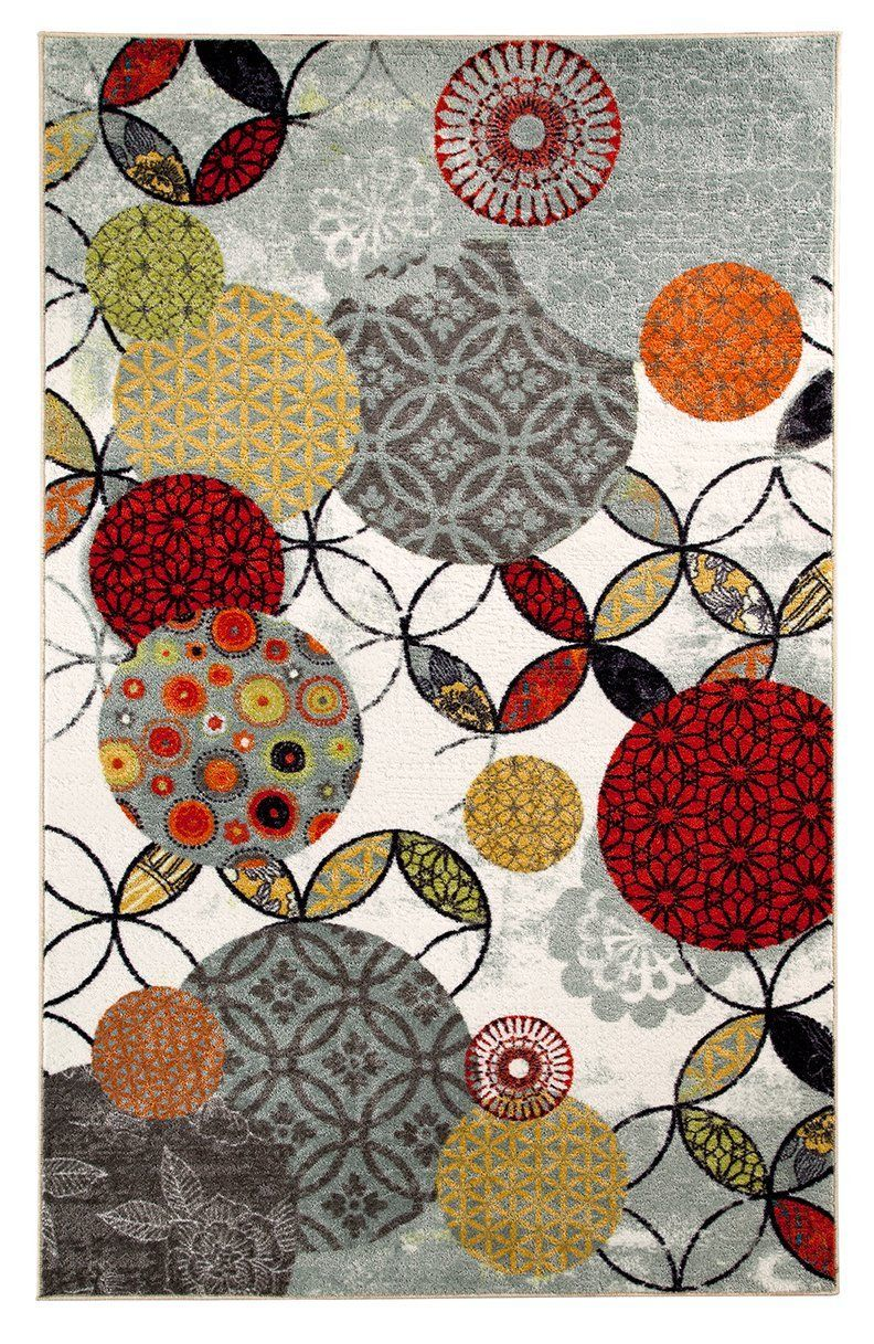 mohawk give and take kaleidscope contemporary area rug collection