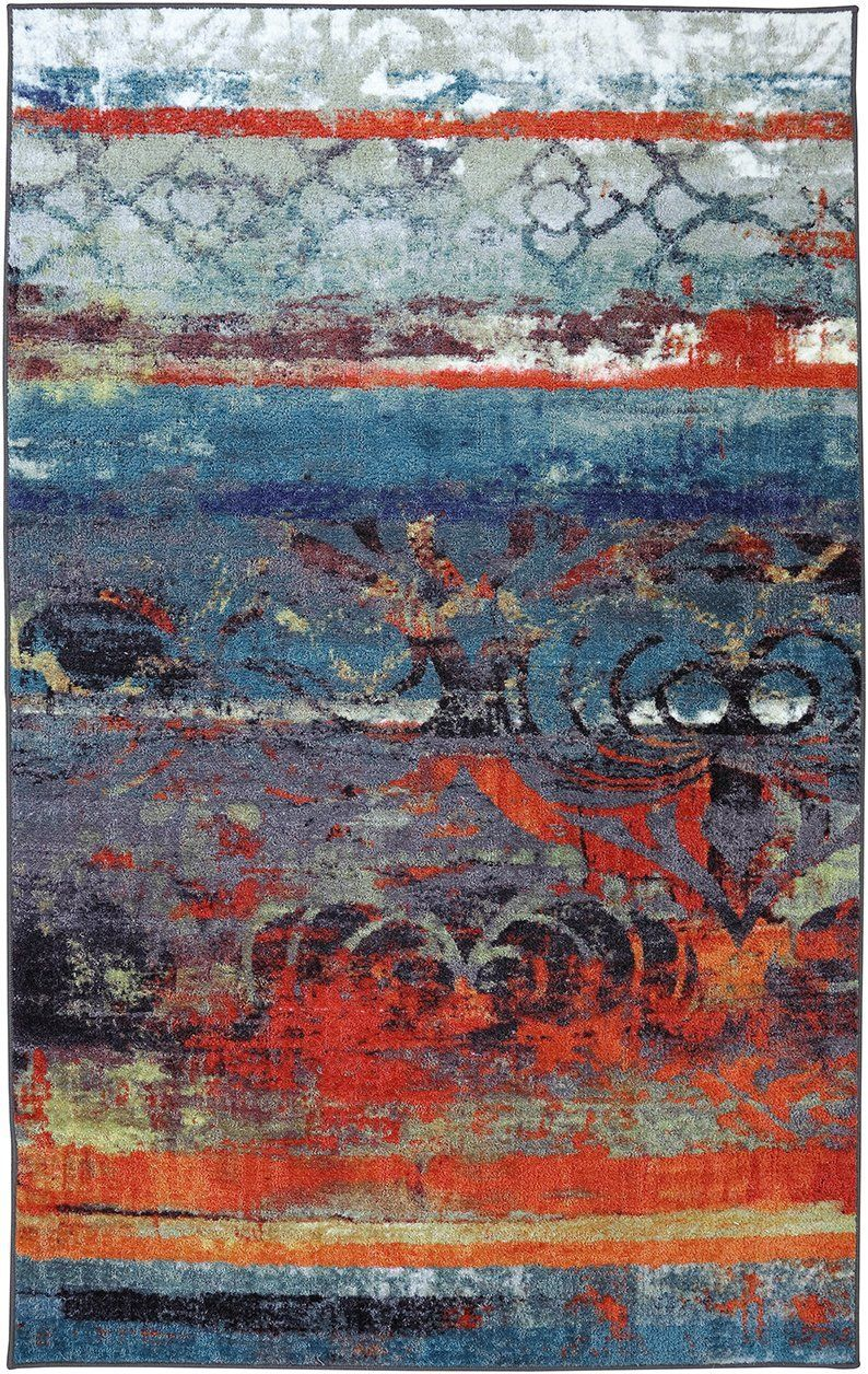 mohawk eroded color contemporary area rug collection