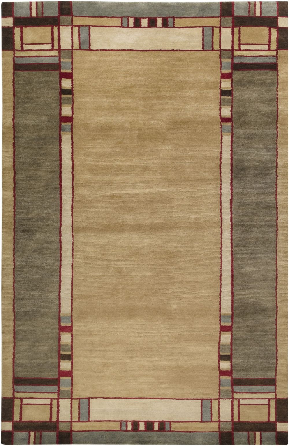 surya arts and crafts contemporary area rug collection