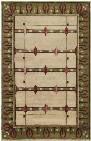 Surya Contemporary Arts and Crafts Area Rug Collection