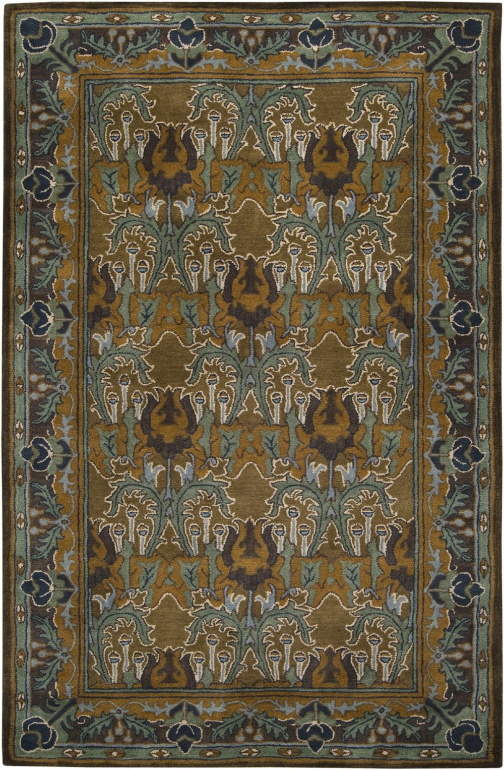 surya bungalo contemporary area rug collection