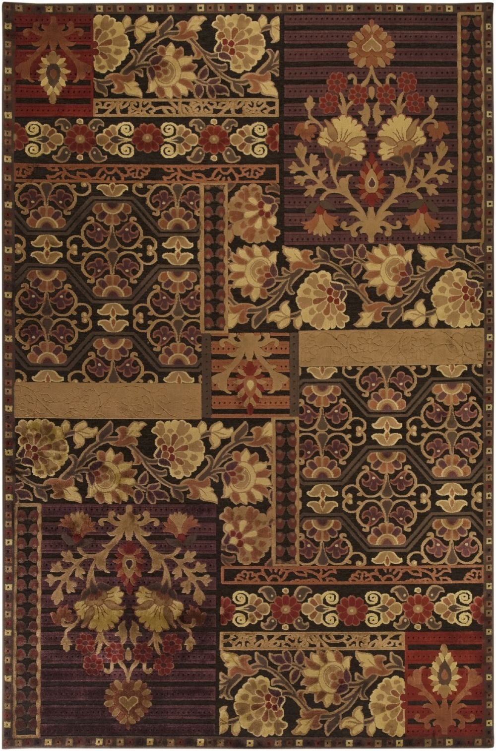 surya basilica transitional area rug collection