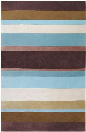 RugPal Solid/Striped Cadence Area Rug Collection