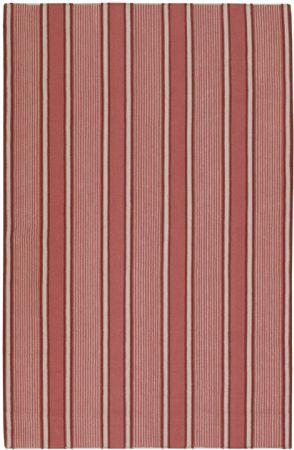 Surya Solid/Striped Farmhouse Stripes Area Rug Collection