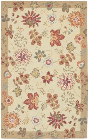 FaveDecor Country & Floral Rowbarton Area Rug Collection