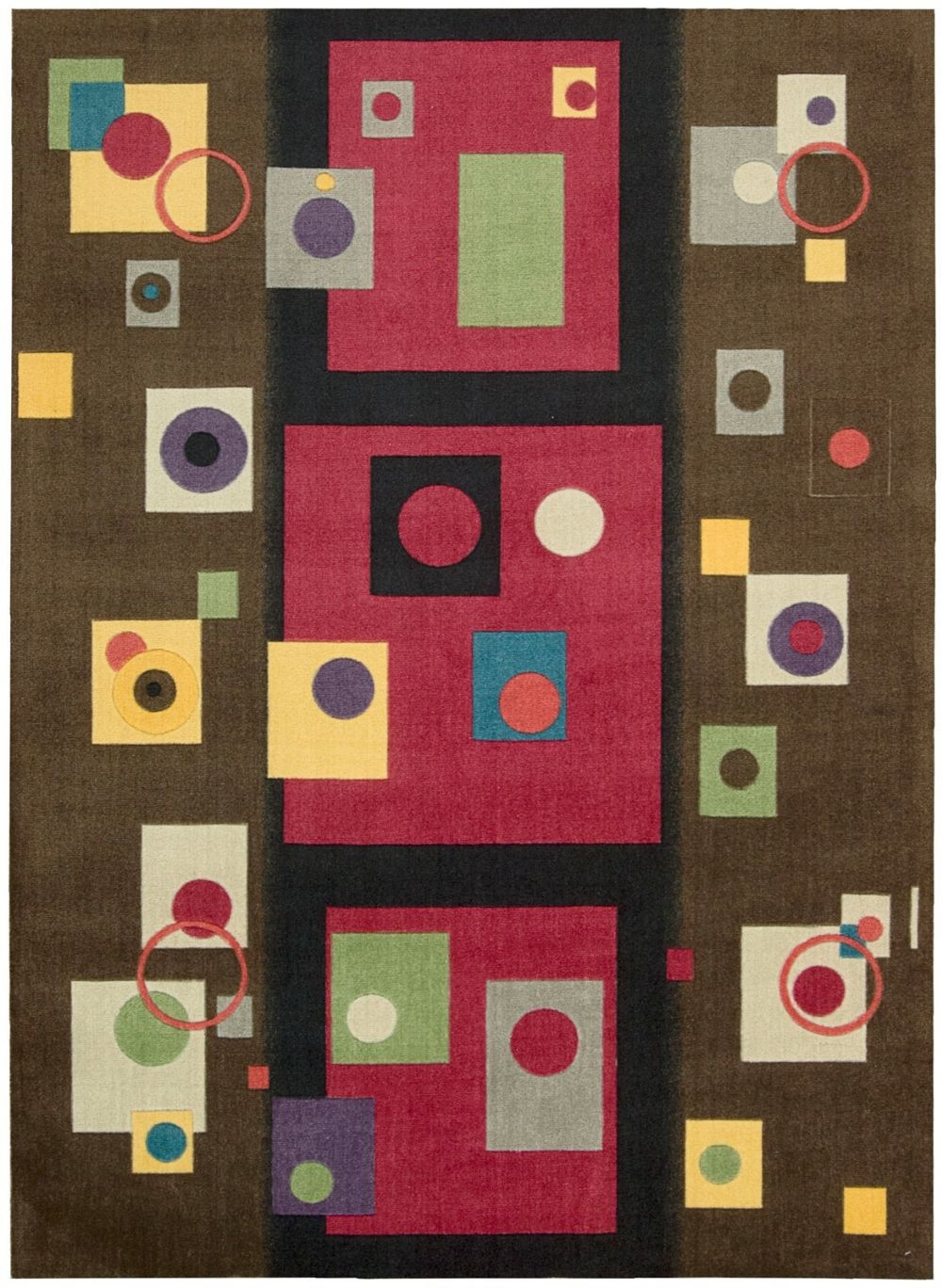 nourison modern art contemporary area rug collection