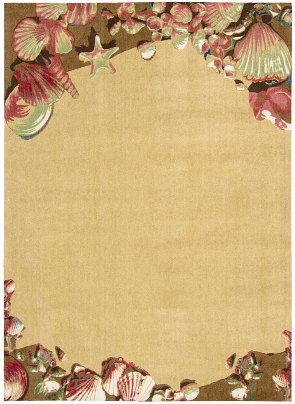 nourison shoreline contemporary area rug collection