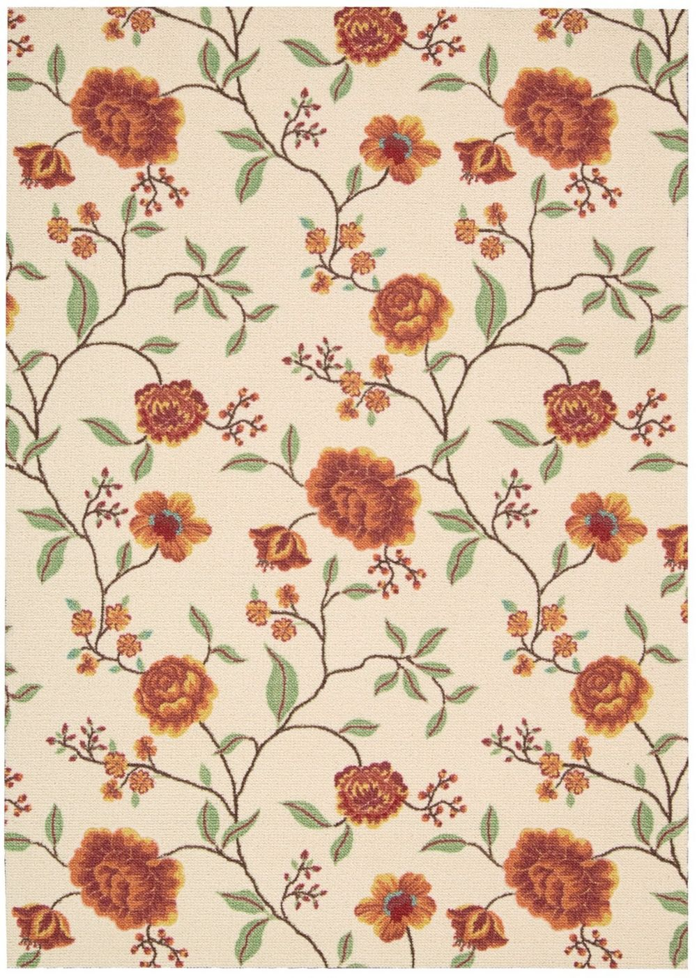 nourison vista country & floral area rug collection