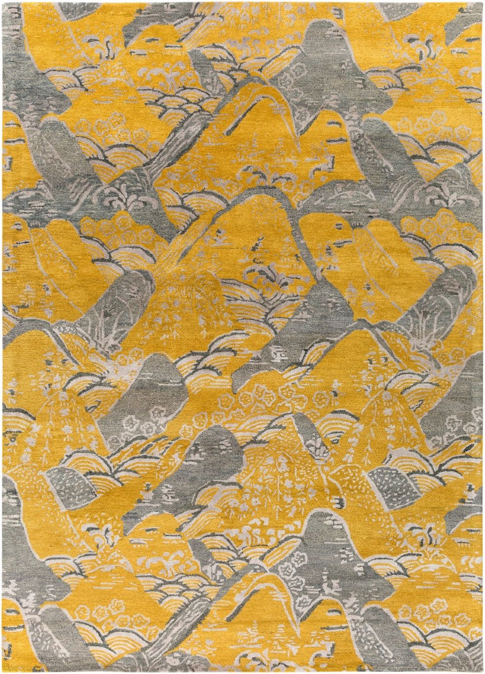 surya banshee contemporary area rug collection