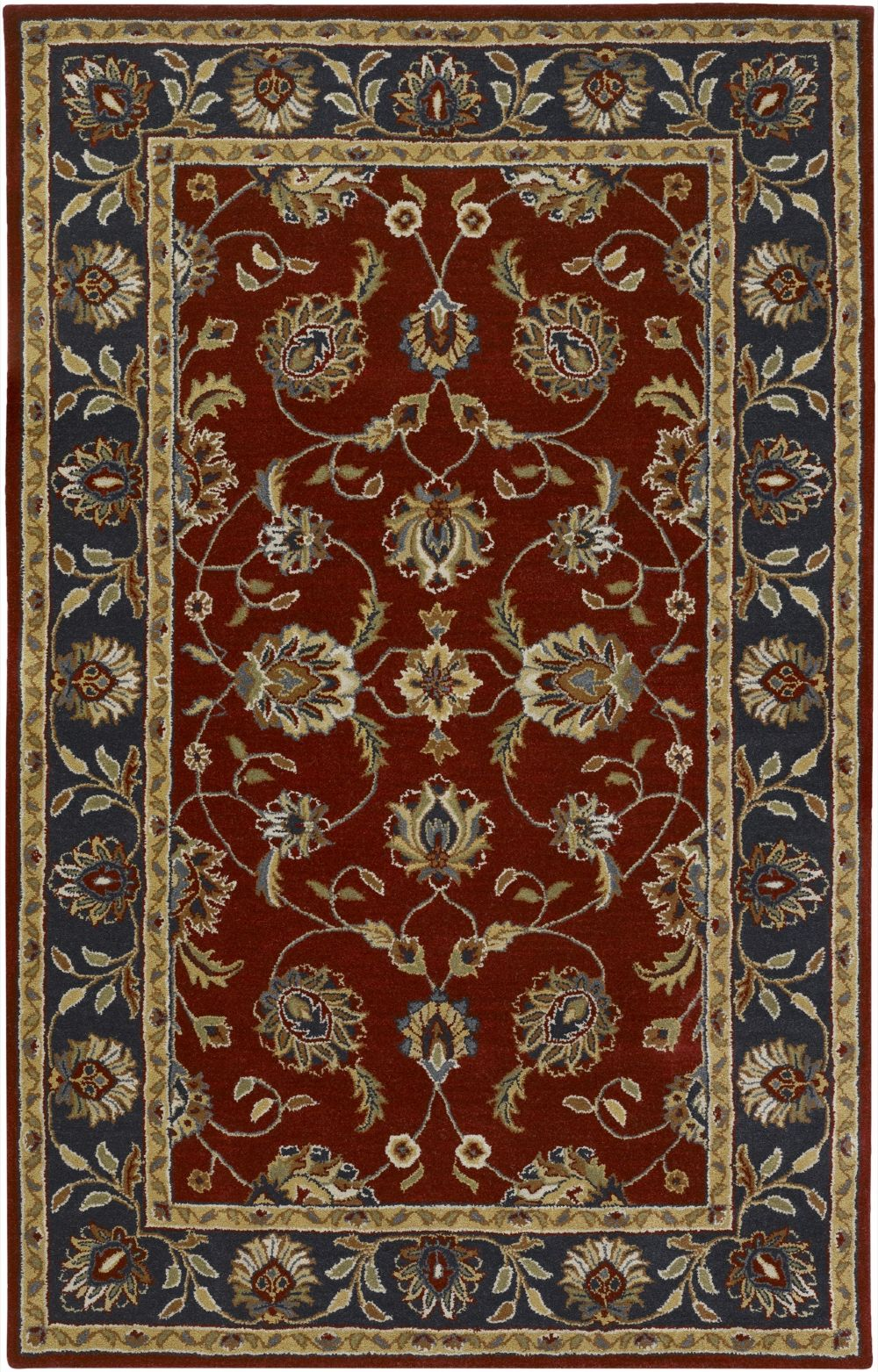 surya foundation traditional area rug collection