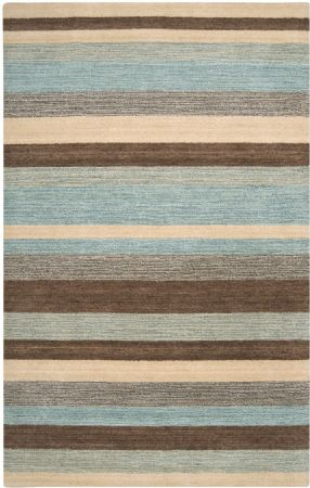 RugPal Solid/Striped Iris Area Rug Collection