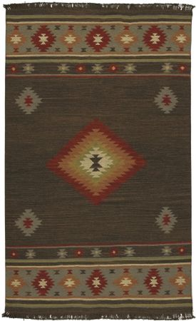 Surya Southwestern/Lodge Jewel Tone Area Rug Collection