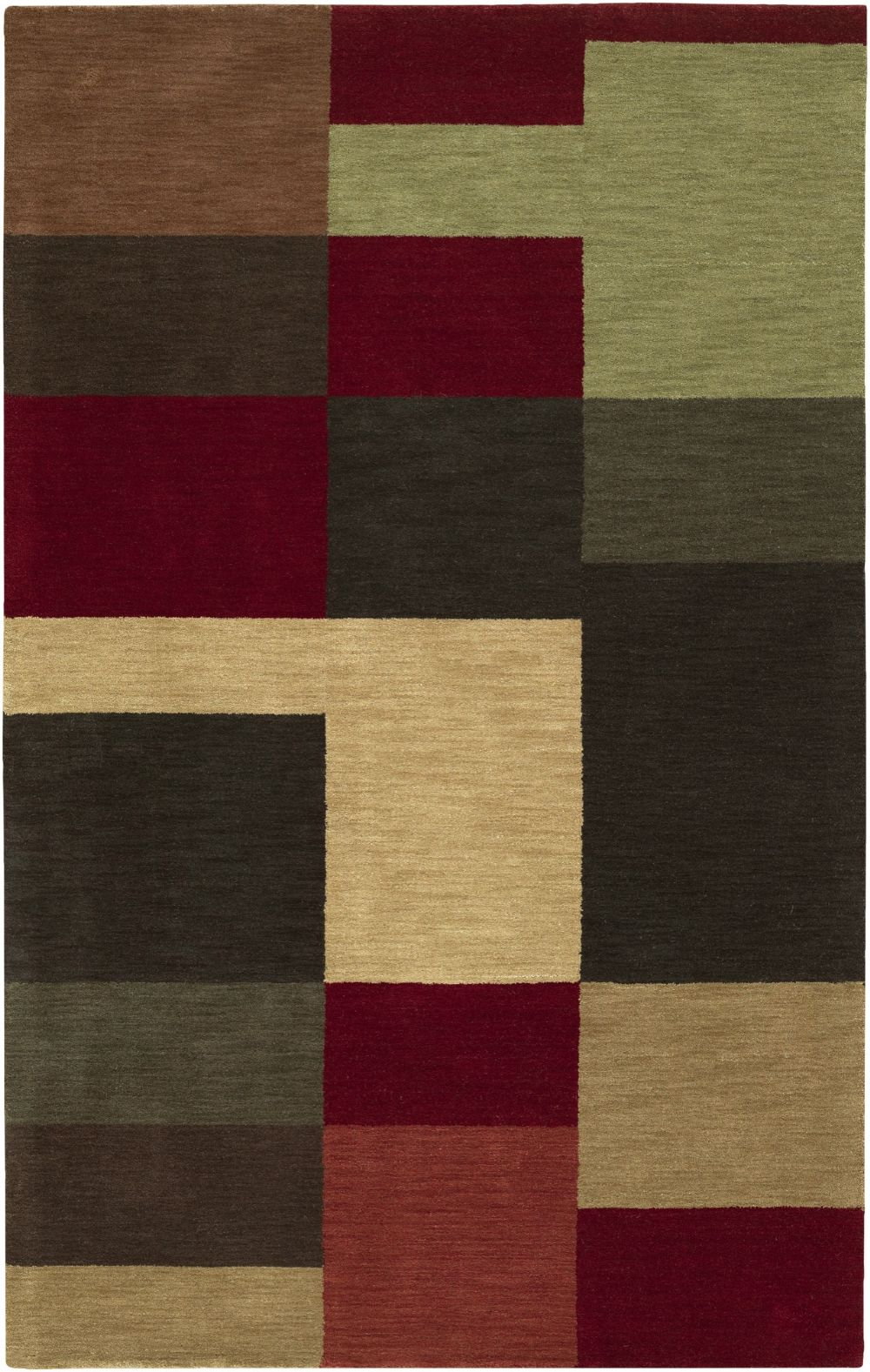 surya loft contemporary area rug collection
