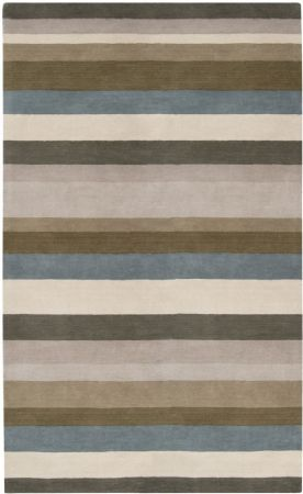 Surya Solid/Striped Loft Area Rug Collection