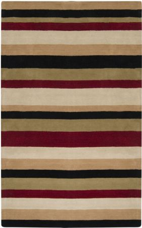 RugPal Solid/Striped Inn Area Rug Collection