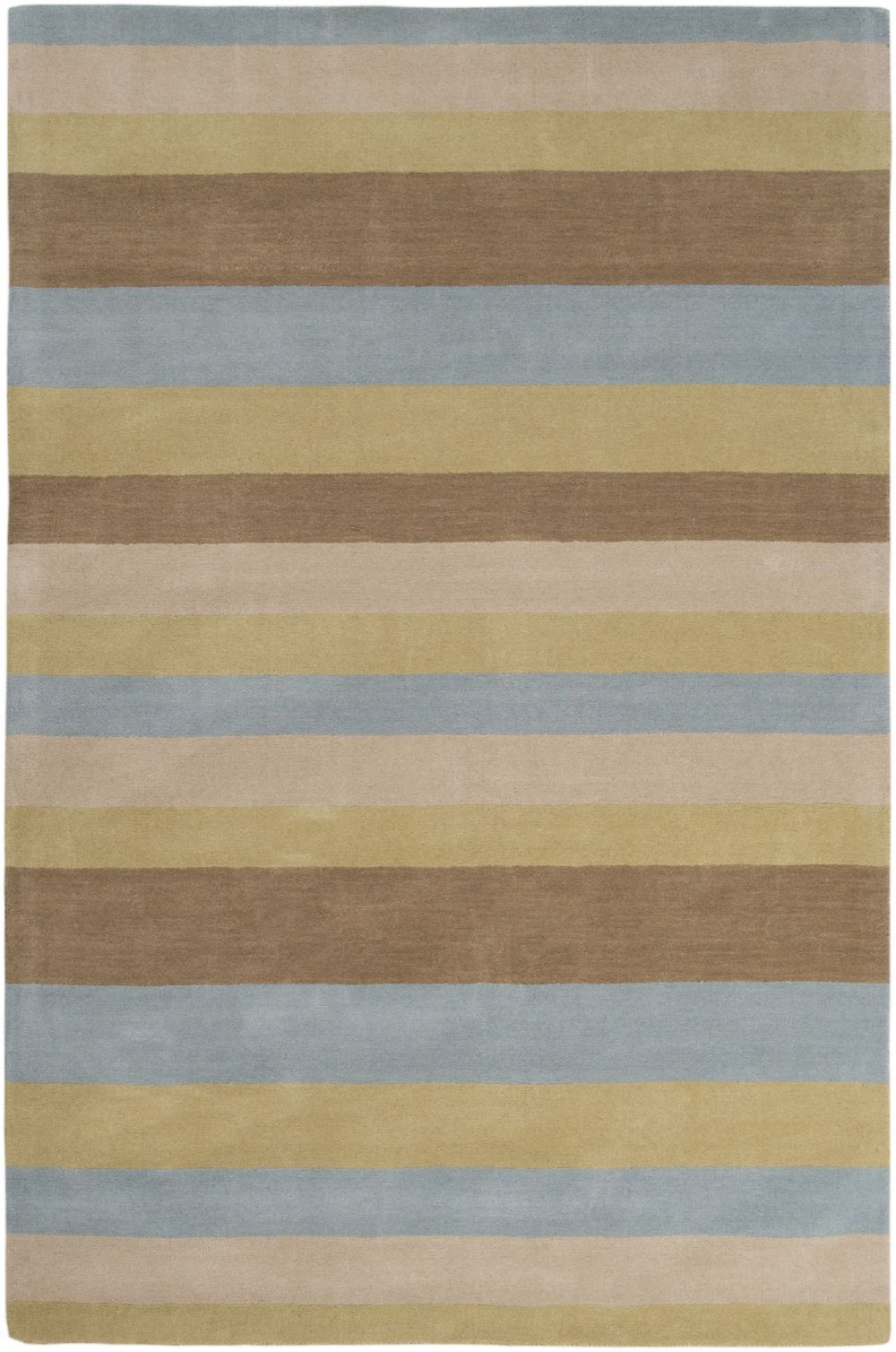 surya loft solid/striped area rug collection