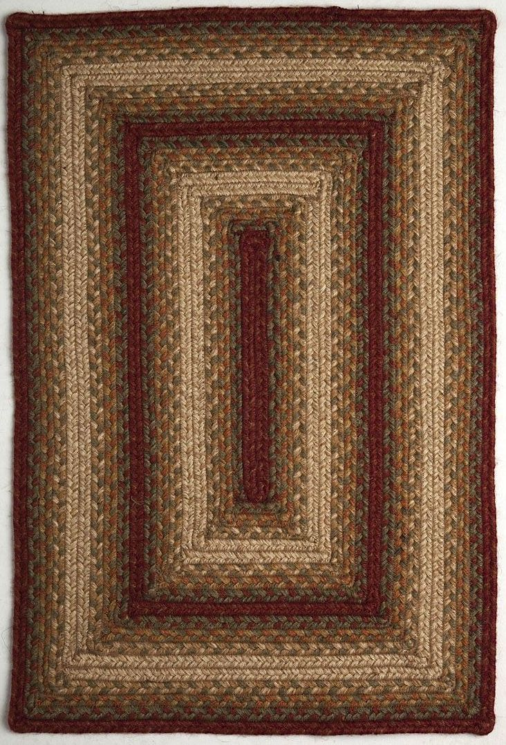homespice decor aberdeen braided area rug collection